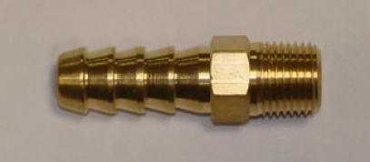 FACET redukce rovná (1/4 NPT x průměr 10 mm)