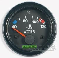 RACETECH elektrický ukazatel teploty vody 40-120 °C