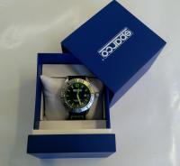 Sparco hodinky (černo-zelené)