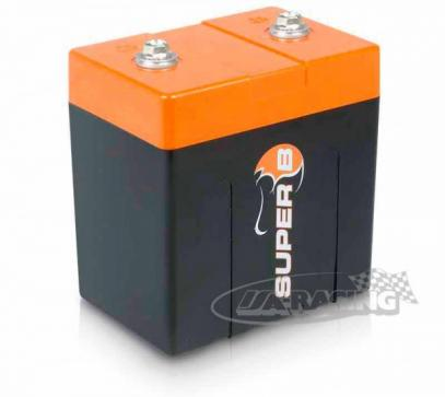 SUPER B SB10P startovací baterie