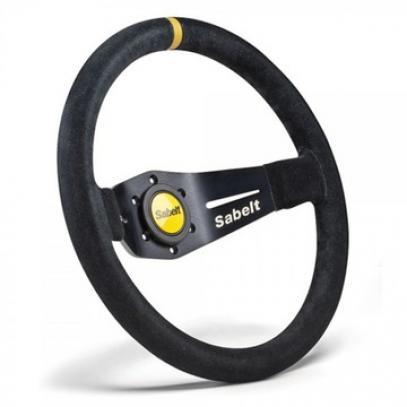 Sabelt volant TURINI 2R/90 semiš (350 mm)