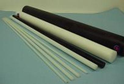 Ertalonová tyč průměr 20 mm/1 m - bílá
