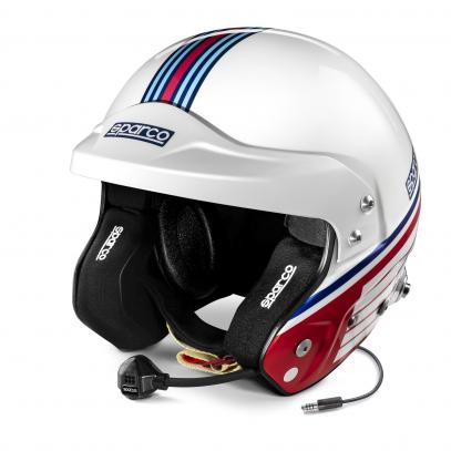 Sparco přilba AIR PRO RJ-5i MARTINI RACING STRIPES