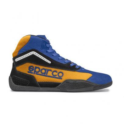 Sparco boty GAMMA KB-4 (modro-oranžové)