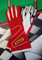 Sabelt rukavice TOUCH FG-300 (červené)