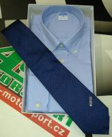 Sparco košile s dlouhým rukávem (lila, S) + kravata