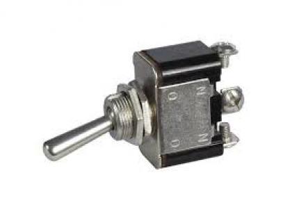 Ocelový páčkový vypínač ON-ON (25 A/12 V)