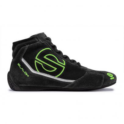 Sparco boty SLALOM RB-3 (černé se zelenou)
