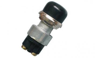 Startovací tlačítko kov - vodotěsné