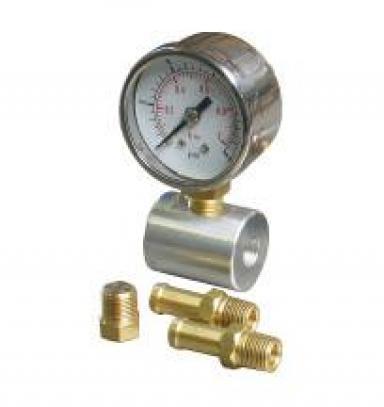 Průběžný ukazatel tlaku paliva 15 psi - 1 bar