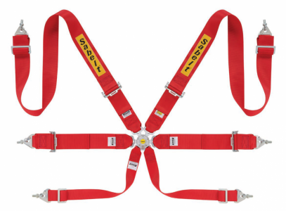"""Sabelt 6bodové pásy STEEL 3""""/3"""" (červené, do r. 2025)"""