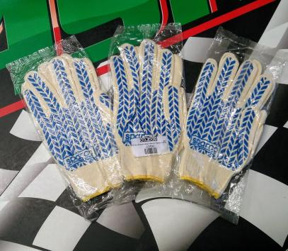 Sparco pracovní rukavice COTTON - krátké