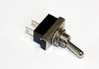 Ocelový páčkový vypínač ON-OFF (25 A/12 V) konektory