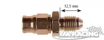 D-03 Aeroquipe adaptér s maticí 3/8 UNF krátký