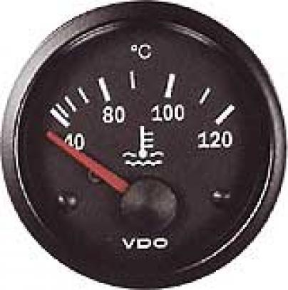 VDO ukazatel teploty vody do 120 °C