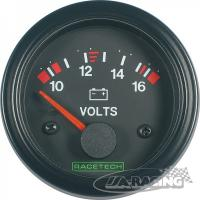 RACETECH voltmetr 10-16 V