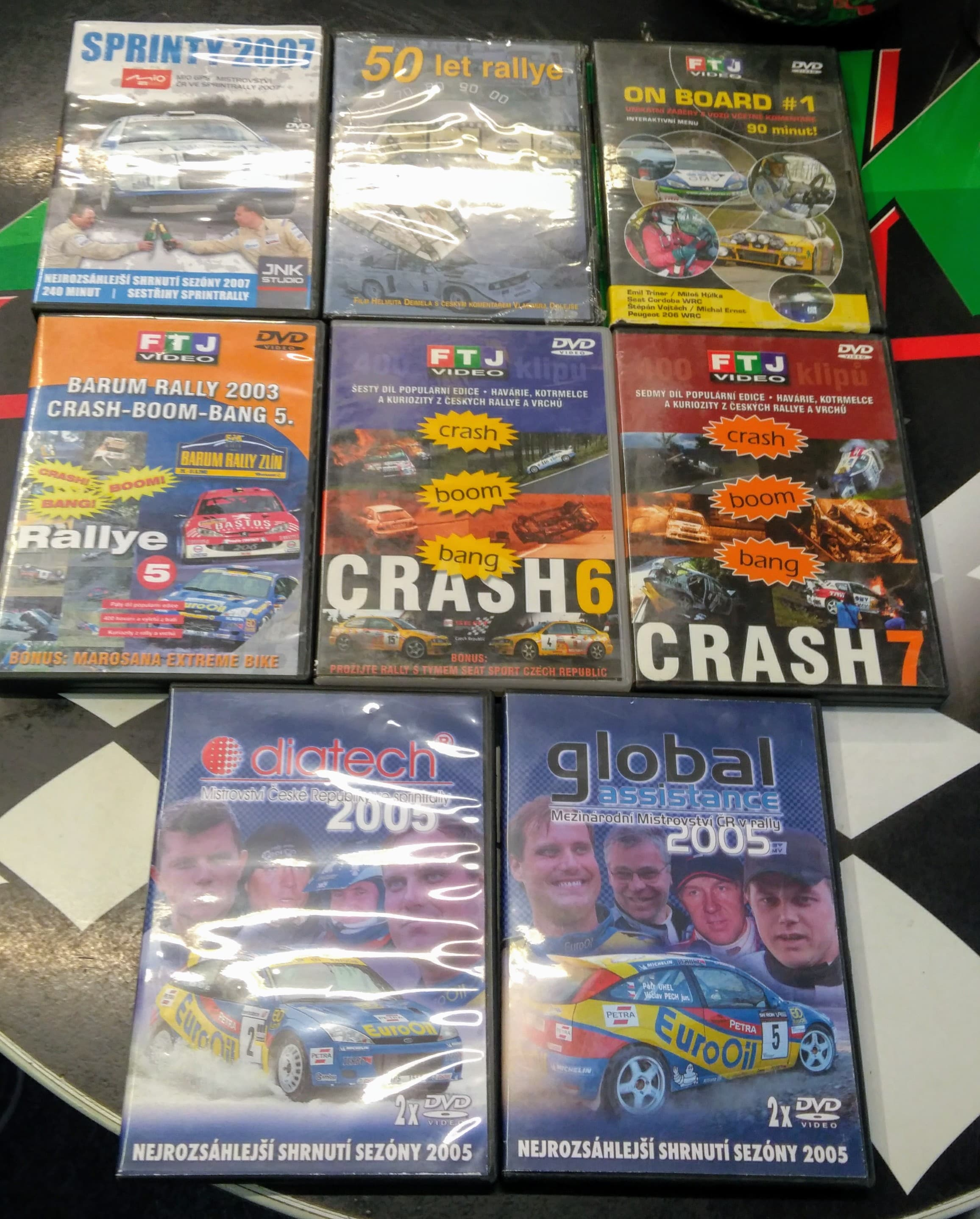 DVD - Rallye CRASH BOOM BANG